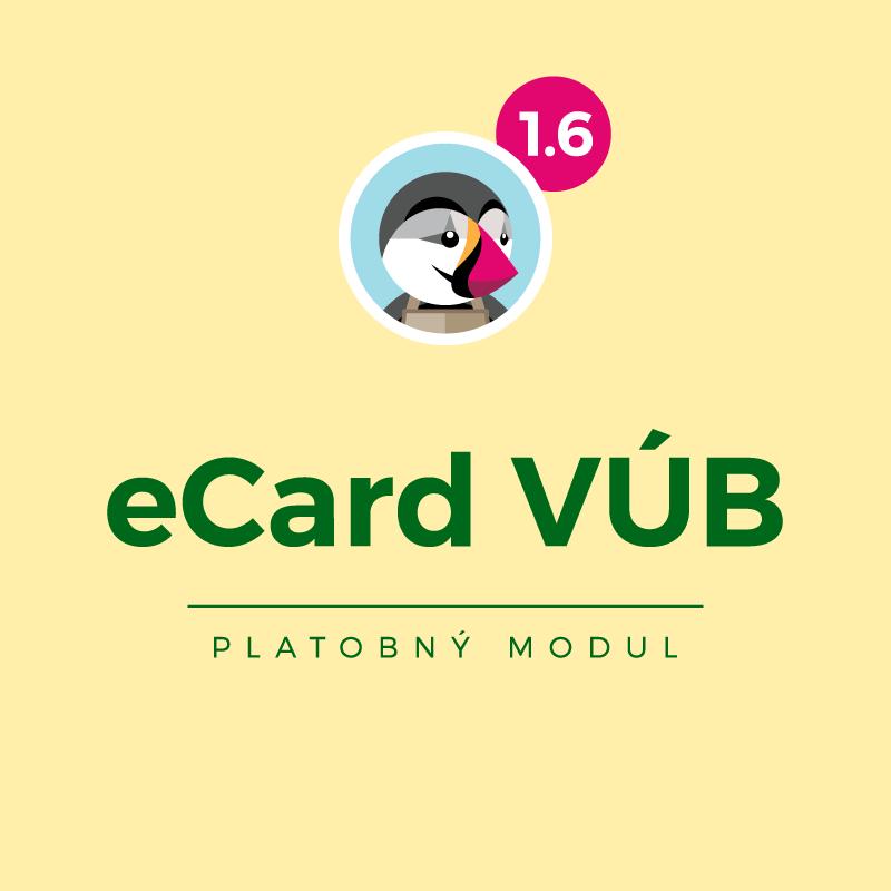 Modul eCard VÚB pre PrestaShop