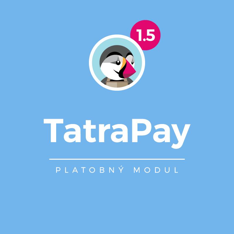 Modul TatraPay pre PrestaShop